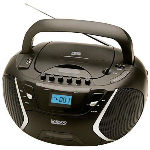 RADIO DAEWOO CD/K7-2x1,2W.MP3  -DBU51